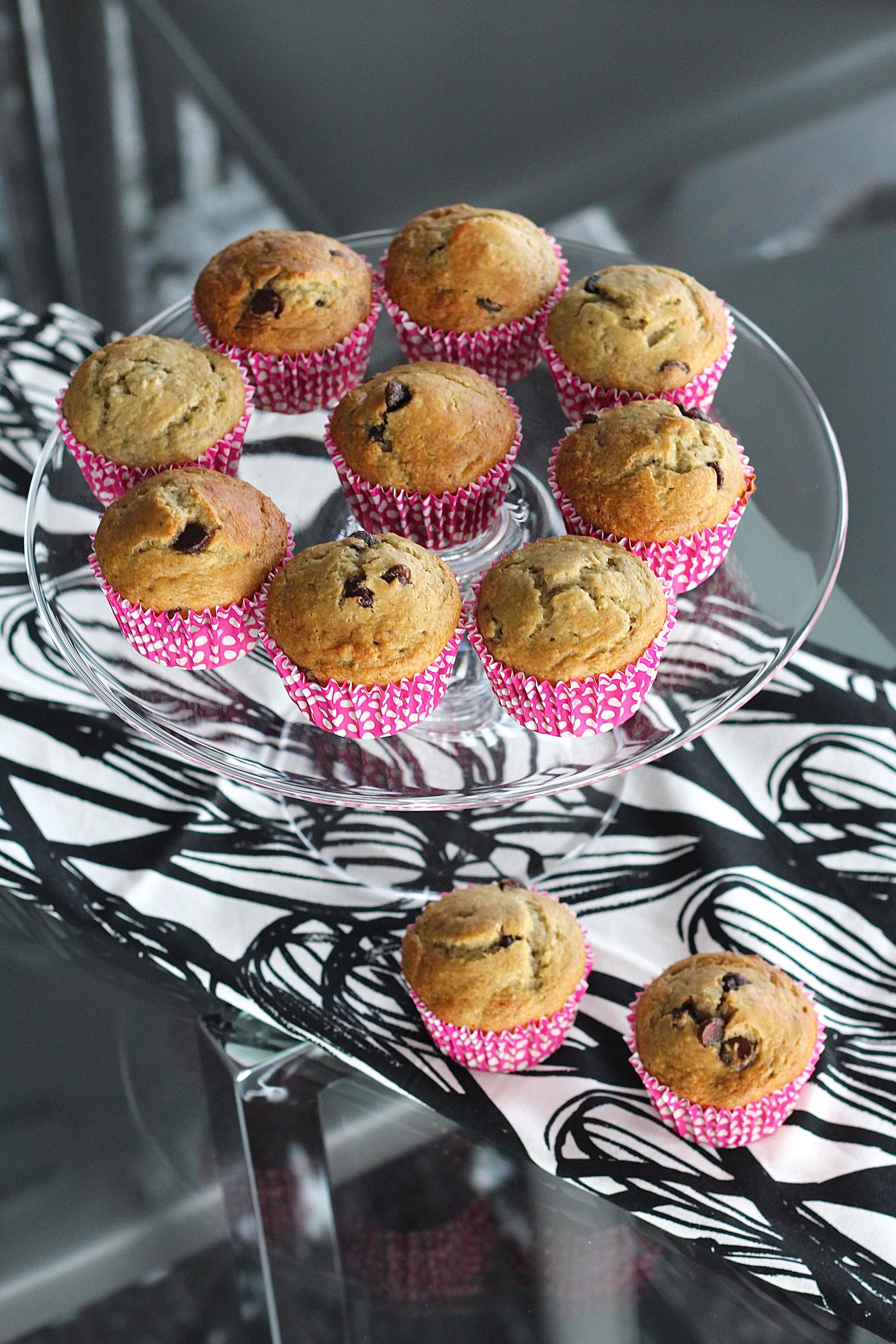 chocolate chip banana muffin recipe 6