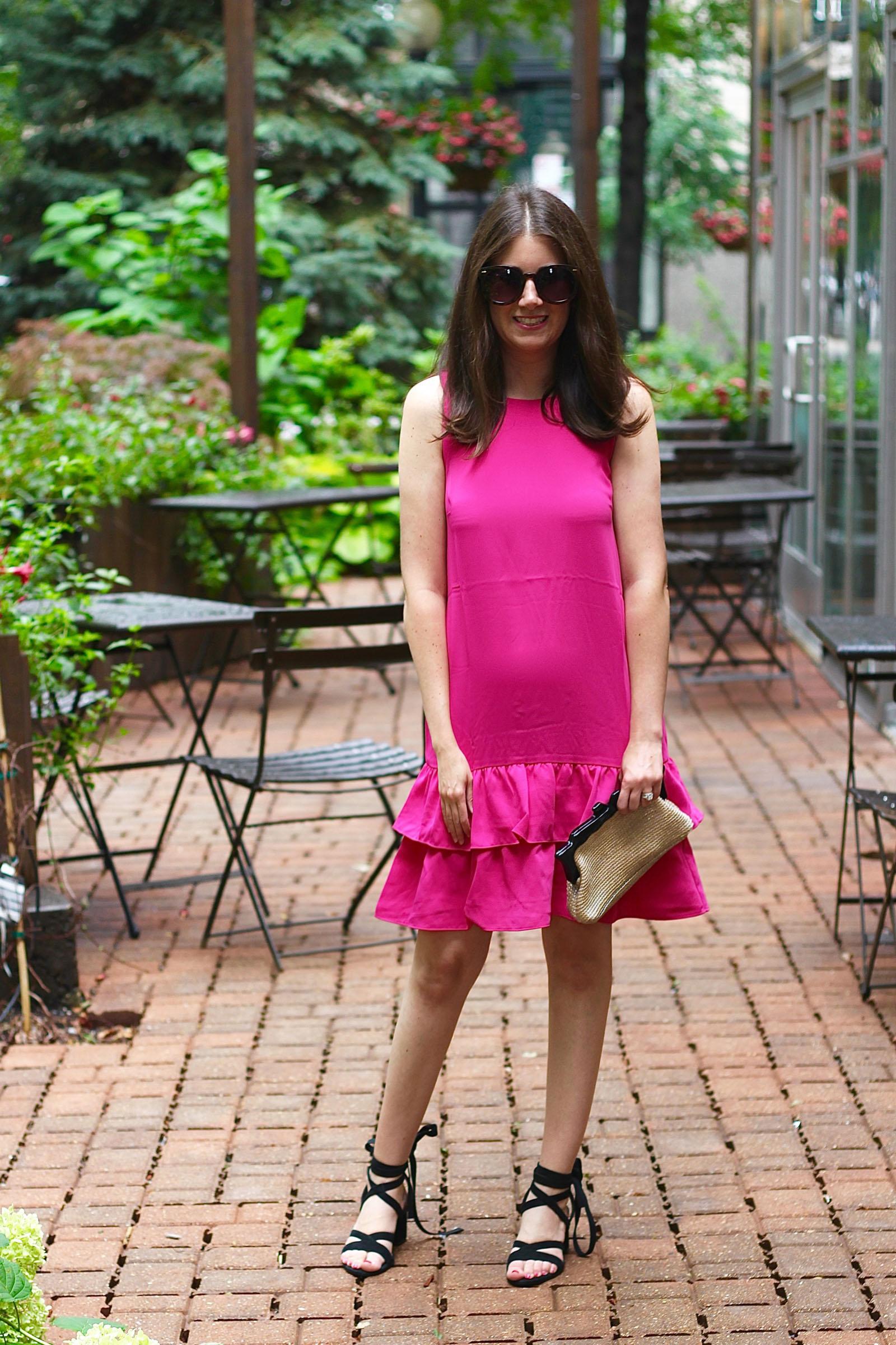 Ann Taylor Pink Dress