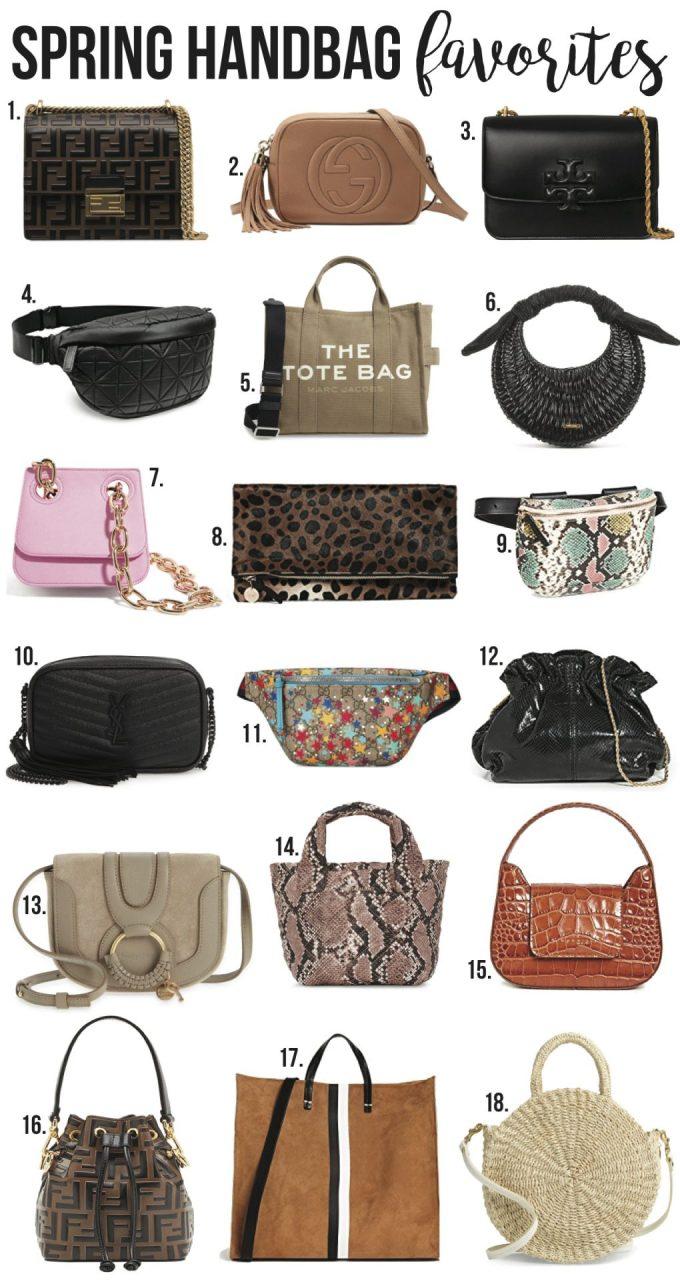 spring handbag favorites